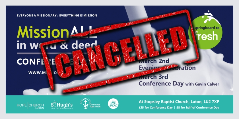 [Missional18] Cancelled